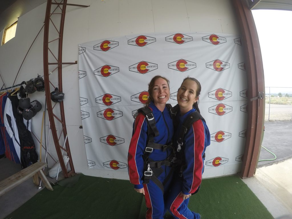 why do we wear jumpsuits skydiving colorado