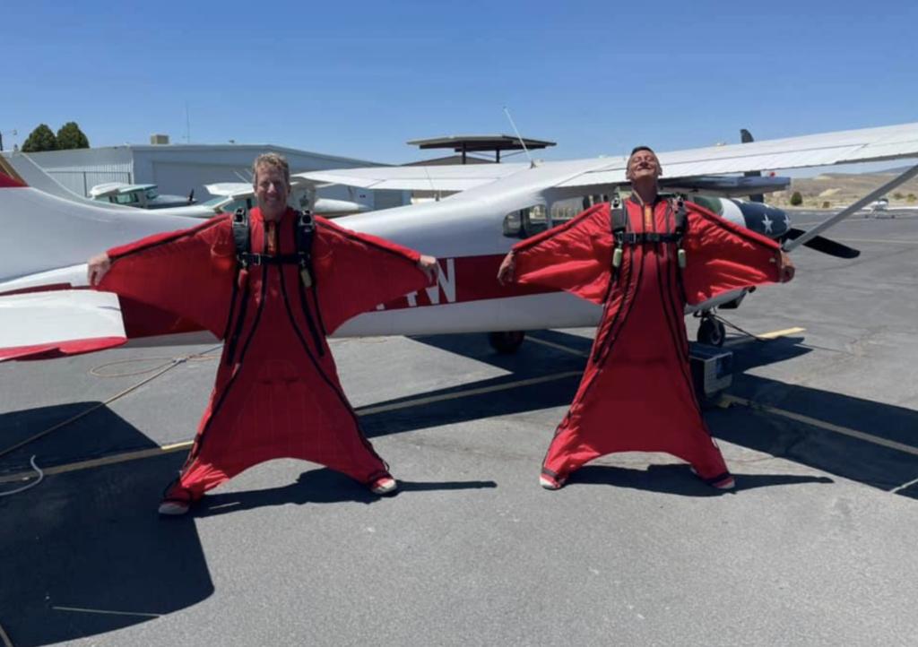 wingsuit skydiving in delta colorado